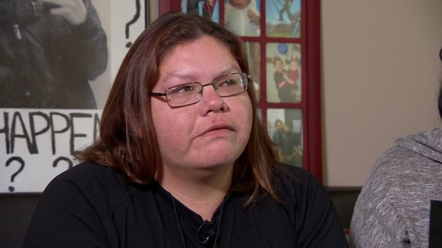 Richelle Dubois says she will continue to sleep outside police headquarters until she sees the report into her son's death.