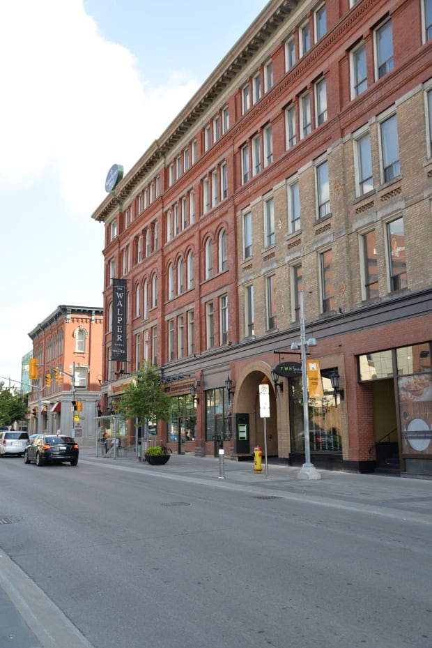 The Kitchener downtown strip