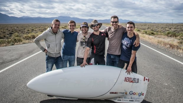 The Aerovelo team managed to reach a speed of 139.45 kilometres per hour this past Saturday with their bike, Eta, winning the World Human-Powered Speed Challenge in Battle Mountain, Nev.