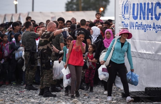 Migrants Macedonia