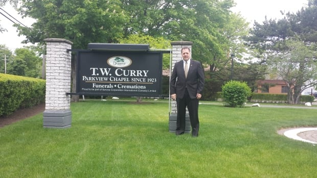 Andrew Chapman, manager of T.W. Curry Parkview Chapel in Sydney, says he faces a challenge of finding new staff as older employees get set to retire.