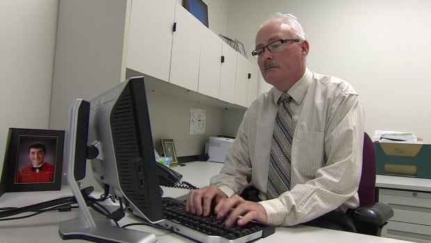 Holland College IT manager Richard MacDonald says the website was quickly restored after being hacked.