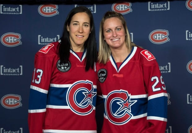 CWHL Les Canadiennes Hockey 20150924