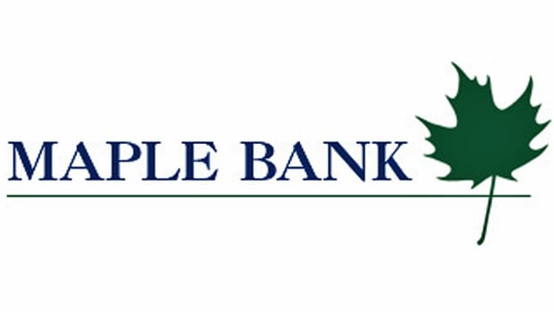 Maple Bank operates a single bank branch in Toronto, but is based in Germany.