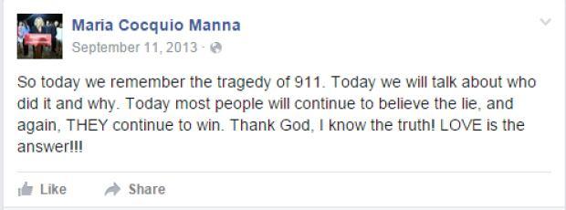Manna Facebook post