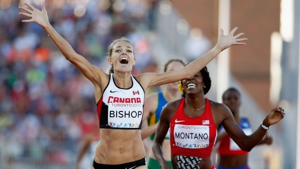 Since winning a silver medal at the world track and field championships, Melissa Bishop hasn't put on running shoes in weeks, and needed to rest her mind just as much as her body.