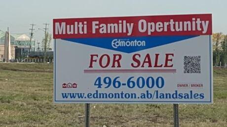 Missed 'opertunity'? Glaring typos on Edmonton city sign go viral