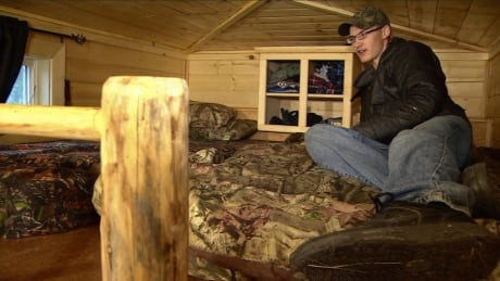 'I've got a roof': Tiny house big gift from little brother