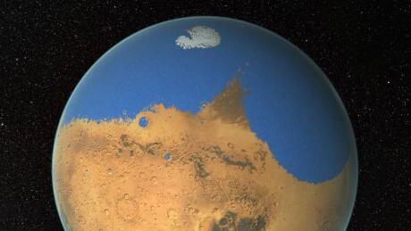 mars body of water