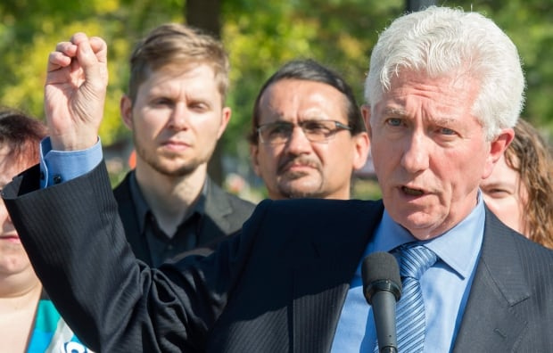 Gilles Duceppe Bloc Quebecois leader federal election 2015