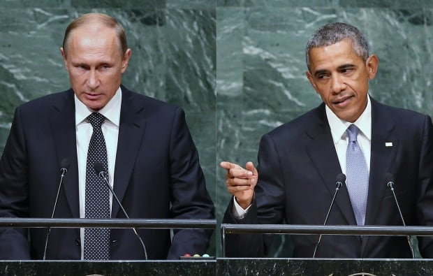 Putin Obama UN General Assembly Sept 28 2015