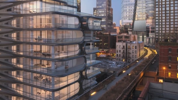 Part of the downtown west side redevelopment called Hudson Yards, planned by Oxford Properties, a unit of OMERS.