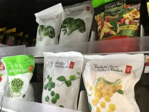 recycling frozen vegetables