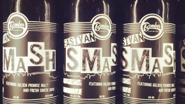 Bottles of Bomber Brewing's East Van Smash. On The Coast beer columnist Rebecca Whyman says this beer, made with B.C. hops, is one to try this fall.
