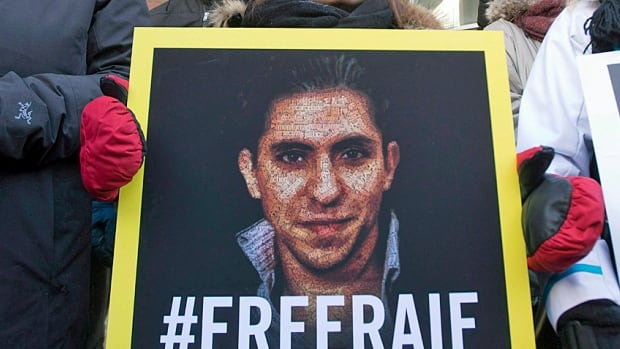 The case of Saudi blogger Raif Badawi was raised by Foreign Affairs Minister Stéphane Dion during a meeting with Adel Al Jubeir, Saudi Arabia's minister of foreign affairs, in Ottawa on Thursday.