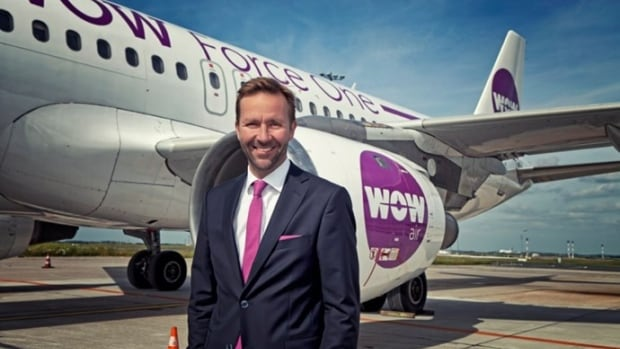 WOW Air's owner Skuli Mogensen says the airline has moved up its launch date in Canada due to overwhelming demand.