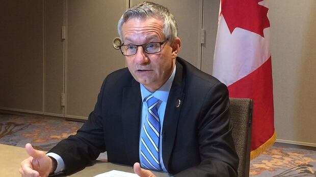 International Trade Minister Ed Fast is in Atlanta this week, where he's attempting to complete negotiations toward a 12-country Trans-Pacific Partnership trade deal.