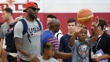 LeBron James speaks out about gun violence