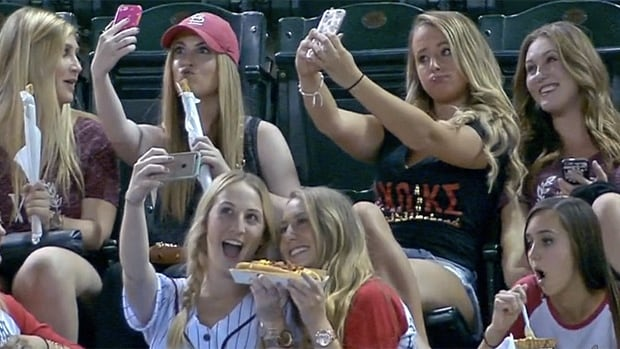 "Showdown between sportscasters and sorority girls results in a new type of ""shaming"" for the internet to decry: Selfie shaming."