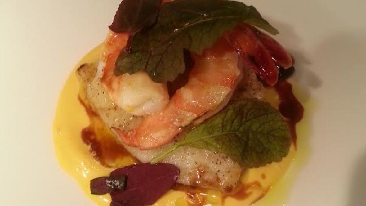 Recipe: Halibut cheeks, pan-roasted with prawns and aioli - British ...