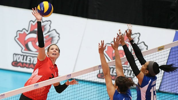 Team captain Brittney Page, seen above at a previous event, helped Canada earn a chance to qualify for the 2016 Olympics.