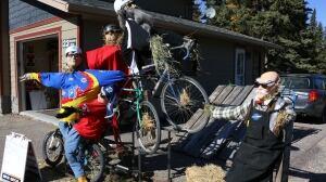 Bragg Creek Scarecrow Festival