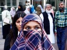 """I am feeling a little unsafe. People are staring at me... Otherwise before this issue has been taken to this point, everything was fine. I've never faced this kind of attitude in the public."" - Zunera Ishaq fought the Conservative government for her right to wear a niqab at her citizenship ceremony"
