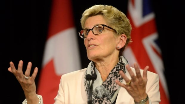 Asked 'Are you going to prorogue?' Premier Kathleen Wynne laughed and replied, 'Stay tuned.'