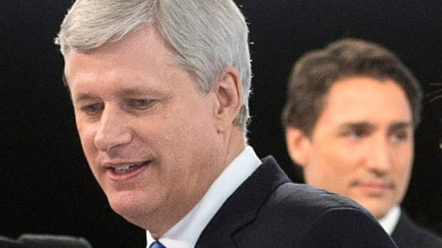 Is Stephen Harper ahead, or is Justin Trudeau leading the pack? The polls aren't sure.