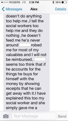Alex Gervais text
