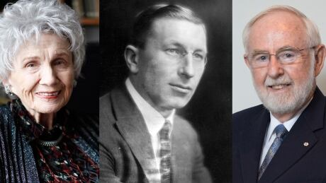 Arthur McDonald joins Munro Banting Canadian Nobel Prize winners