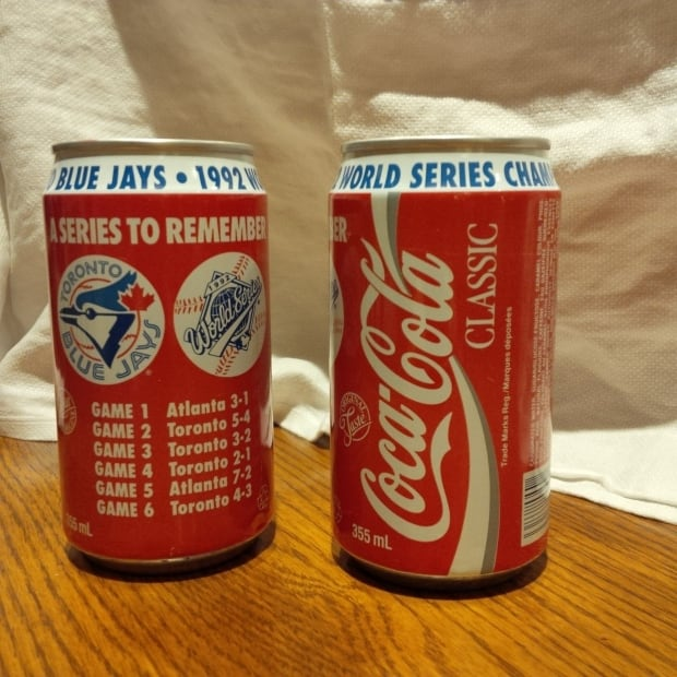 World Series Coke Cans