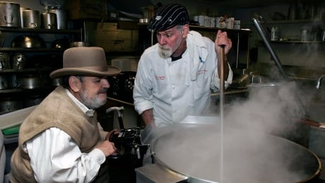 Paul Prudomme in the K-Paul kitchen