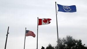 U.S. Steel flag