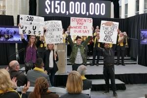 University of Manitoba protest