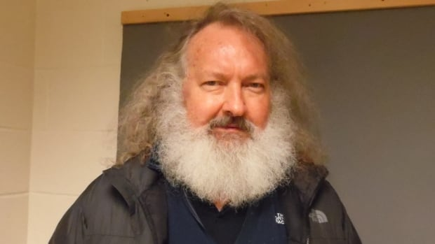 Actor Randy Quaid, seen in a mugshot taken by Vermont State Police, was detained with his wife at the Canadian border Friday night while trying to re-enter the United States after Canadian officials said they'd be deported.