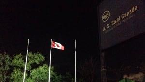 U.S. Steel flags