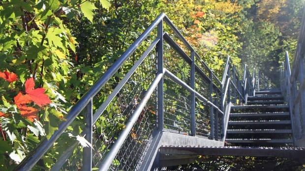 The Dundurn Street Stairs logged the second-highest number of trips in a city study of its outdoor spaces.