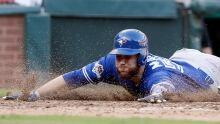 APTOPIX ALDS Blue Jays Rangers Baseball