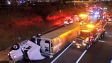 427 truck roll over