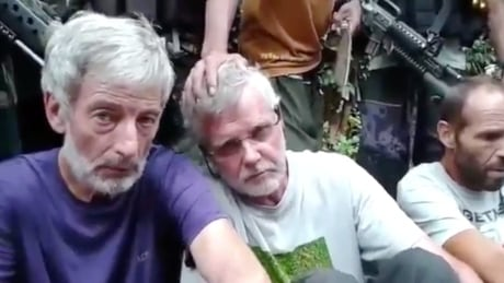 Canadian hostages Robert Hall John Risdel Oct 15 2015