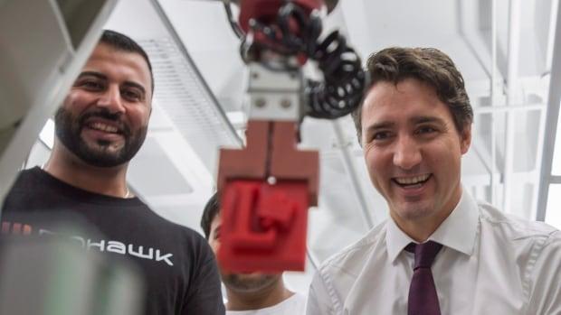 Trudeau in Hamilton