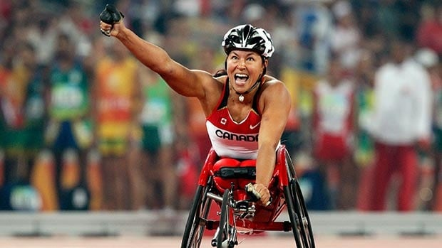 Canadian wheelchair legend Chantal Petitclerc won 21 Paralympic medals, including 14 gold during her illustrious career.