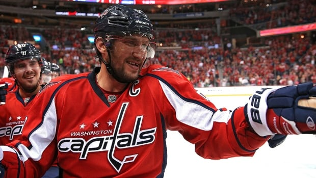 Alex Ovechkin is in the eighth season of a 13-year, $124-million US deal with the Washington Capitals.