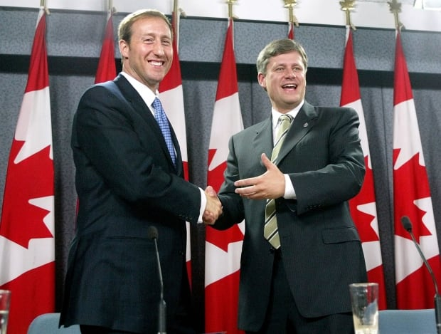 Elxn42 Peter MacKay PC leader Canadian Alliance leader Stephen Harper 2003