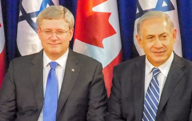 Stephen Harper Benjamin Netanyahu legacy federal election 2015