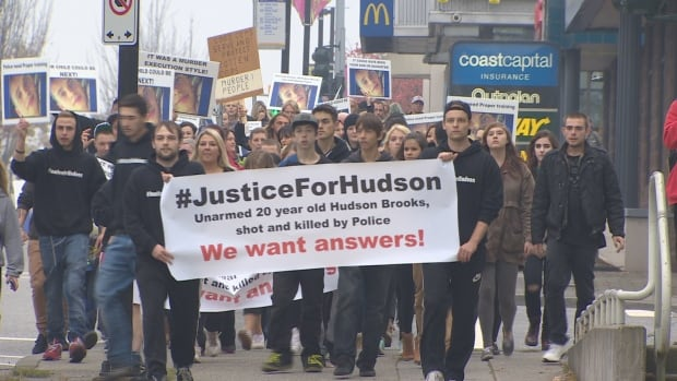 Justice for Hudson Brooks March