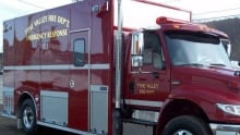 Tyne Valley Fire Department called to scene at around 9 p.m.