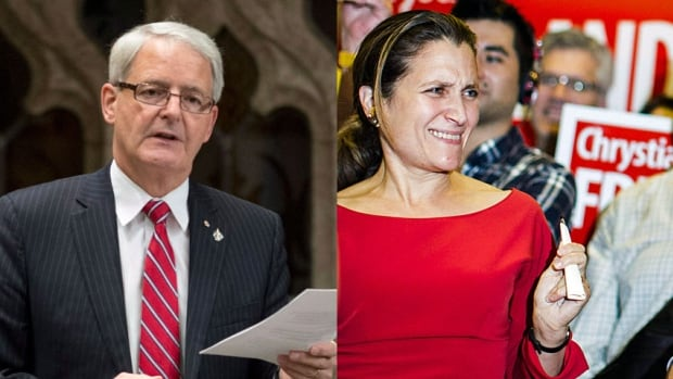 Former astronaut and Liberal leadership candidate Marc Garneau is a likely shoo-in for a cabinet spot. Toronto-based business journalist and author Chrystia Freeland is high on the list of newcomers.