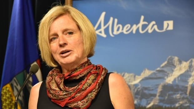 The RCMP say it is aware of online posts that threaten Premier Rachel Notley on anti-NDP websites.